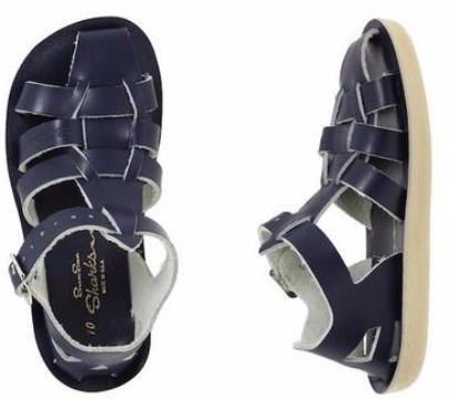 Salt Water Sandals Sharks - Navy