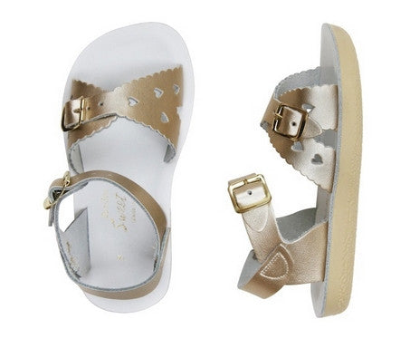 Salt Water Sandals Sweetheart - Gold