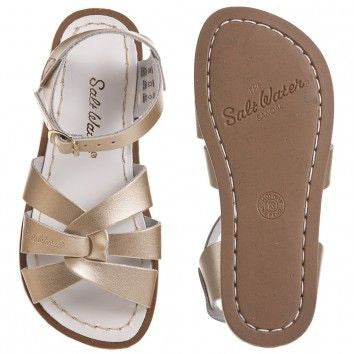 Salt Water Sandals The Original - Gold