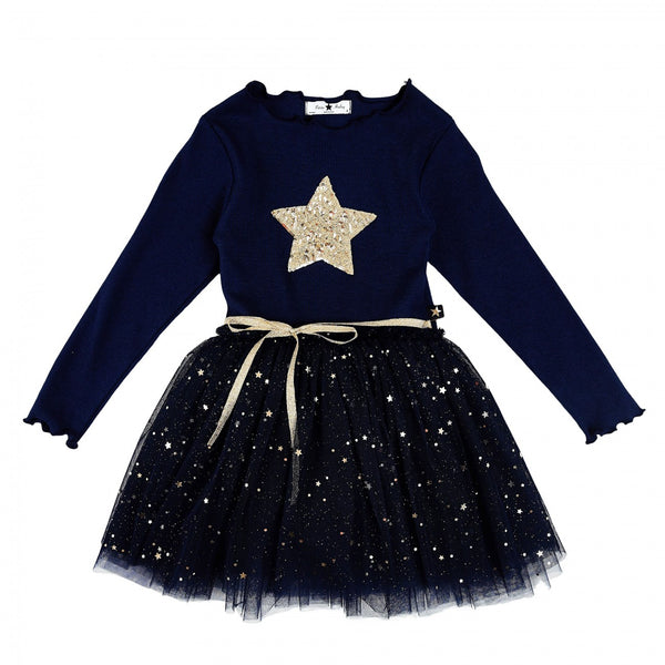 Short Sparkle Tutu - Navy