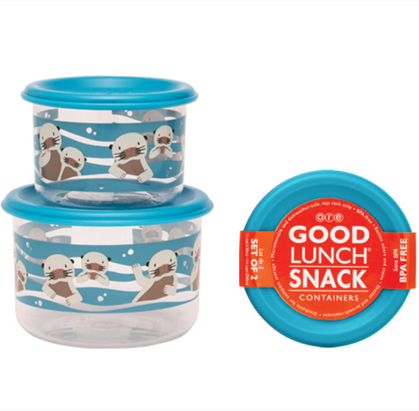 Good Lunch Snack Containers - Baby Otter