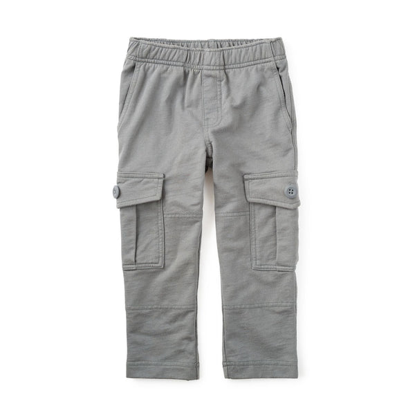 French Terry Cargo Pants - Thunder
