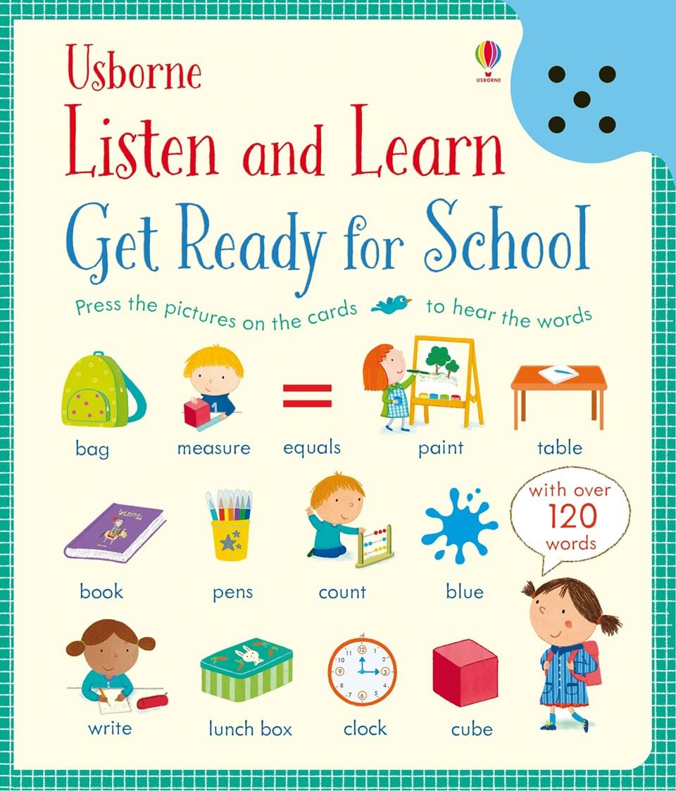 Listen and Learn Get Ready For School