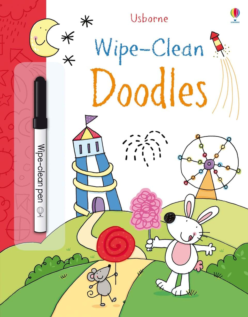 Wipe-clean : Doodles (Age 3+)