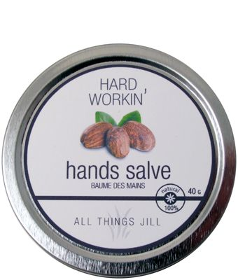 """All things Jill"" - Hard Workin' Hand Salve"