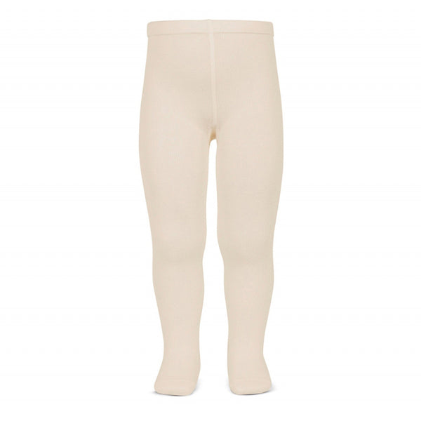 Plain Stitch Basic Tights - LINEN