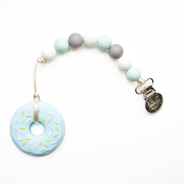 Blue Donut Teether