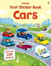 First sticker books cars