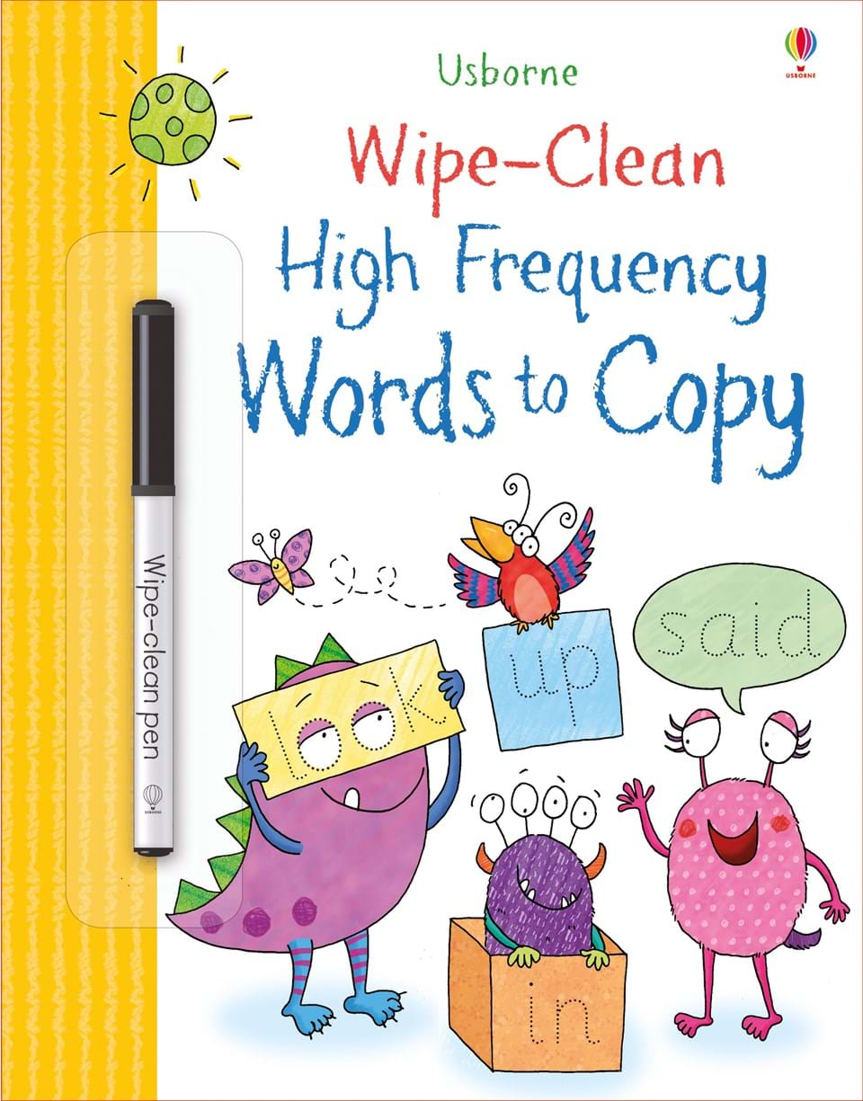 Wipe-clean : High Frequency Words to Copy