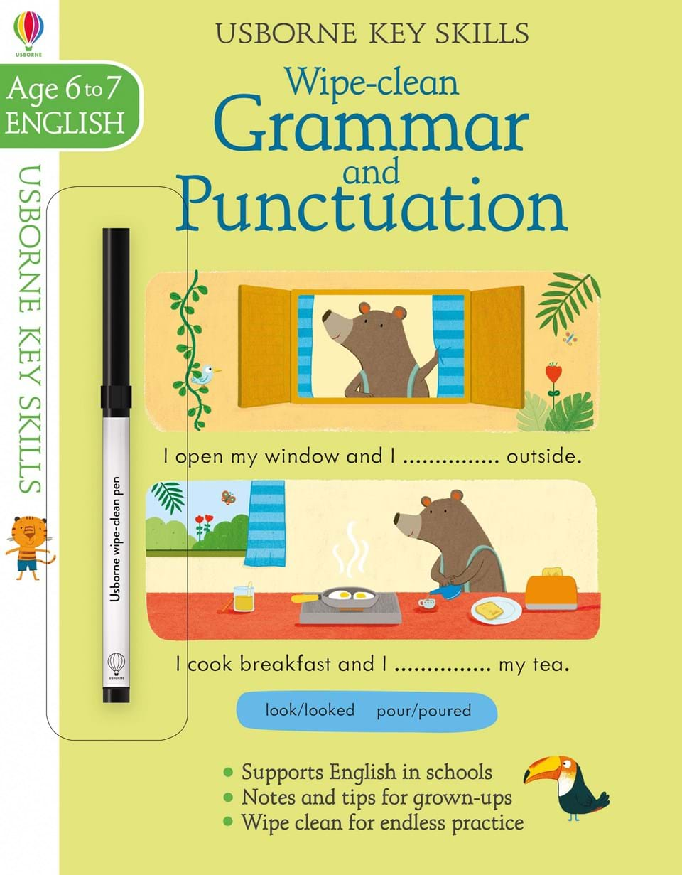 Wipe-clean : Grammar and Punctuation (Age 6-7, English)