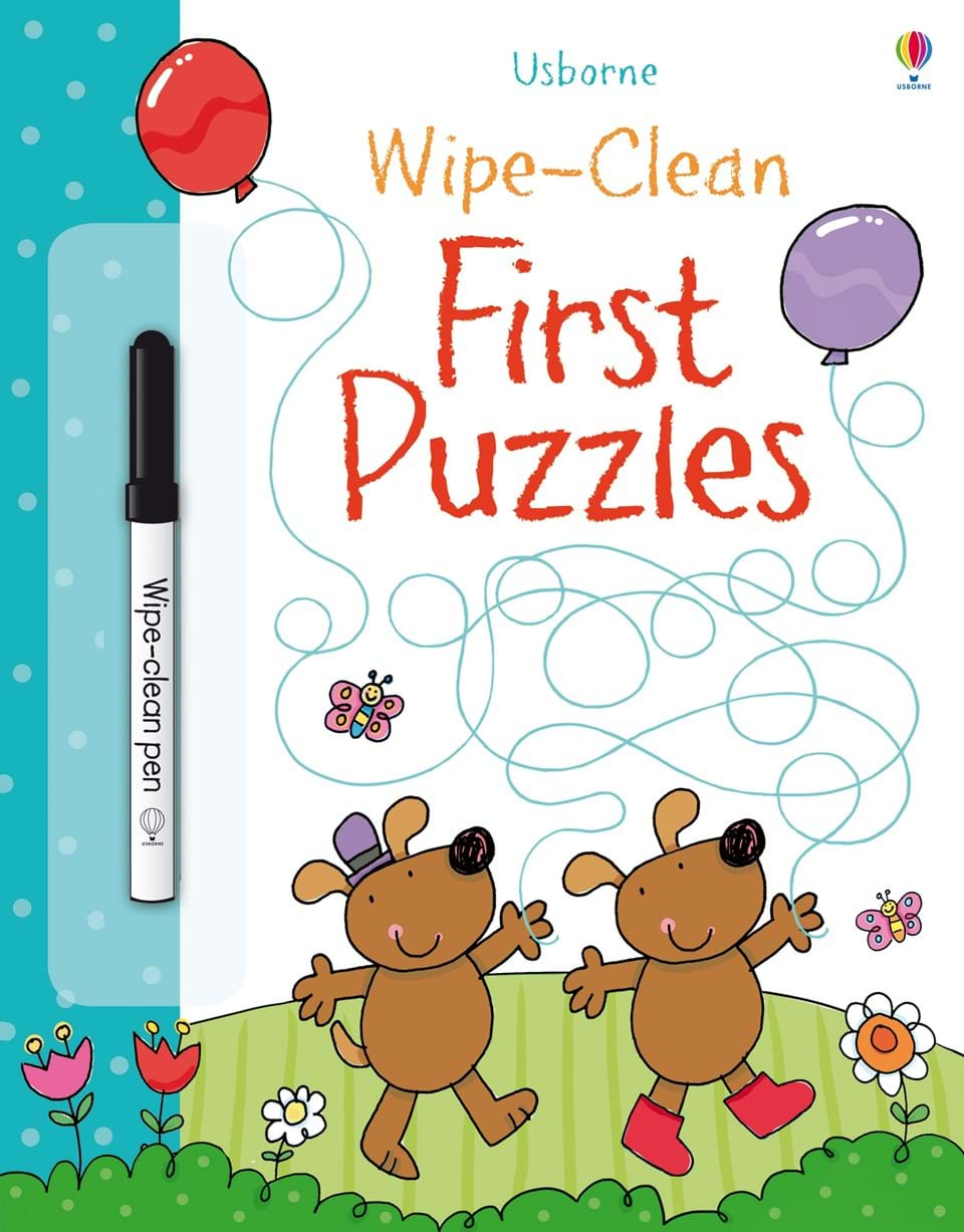 Wipe-clean : First Puzzles (Age 3+)