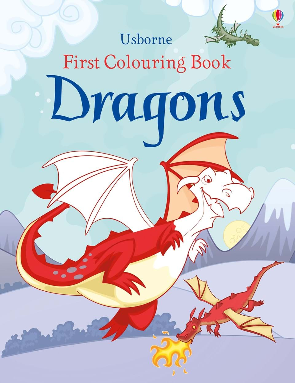 First Colouring Book: Dragons