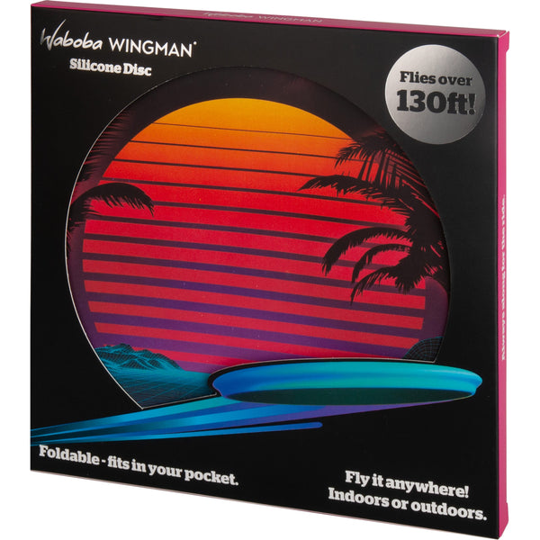 Waboba WINGMAN Silicone Flying Disc