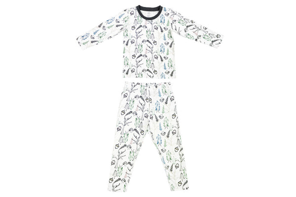 Organic Cotton Two-Piece Pajama Set