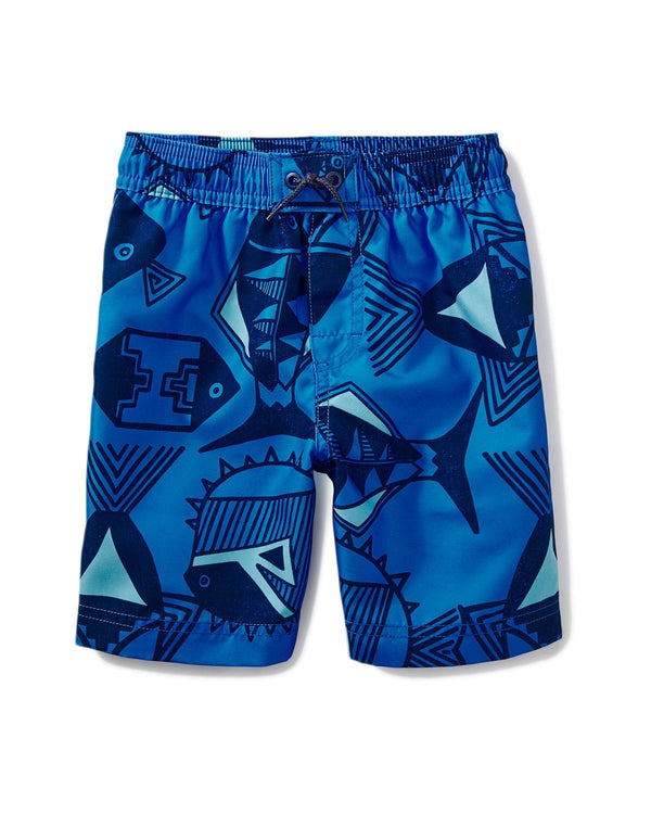 Print Swim Trunks