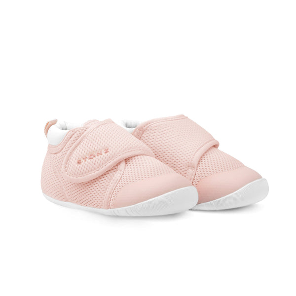 Cruiser Breathable (Early Walking) Shoes - Haze Pink