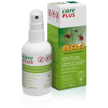 """""""Care Plus"""" Icaridin 20% Deet Free Insect Repellent"""