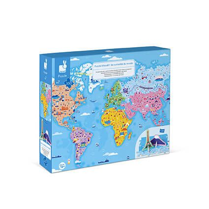 3D Educational Puzzle - World Curiosities (350 pcs)