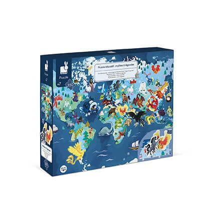 3D Educational Puzzle - Myths & Legends (350 pcs)