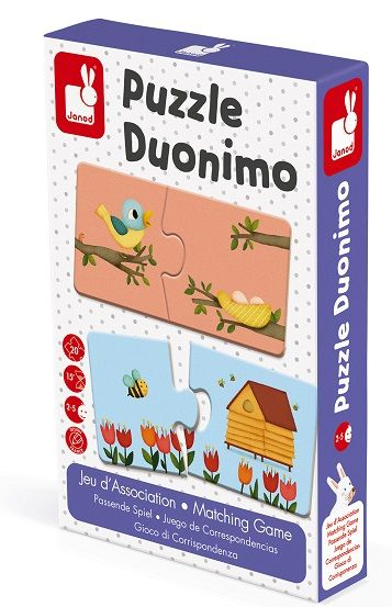 Puzzle Duonimo - 20Pc Matching Game
