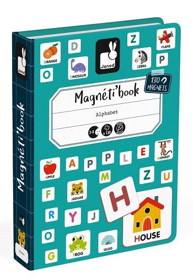 Magnetibook - English Alphabet