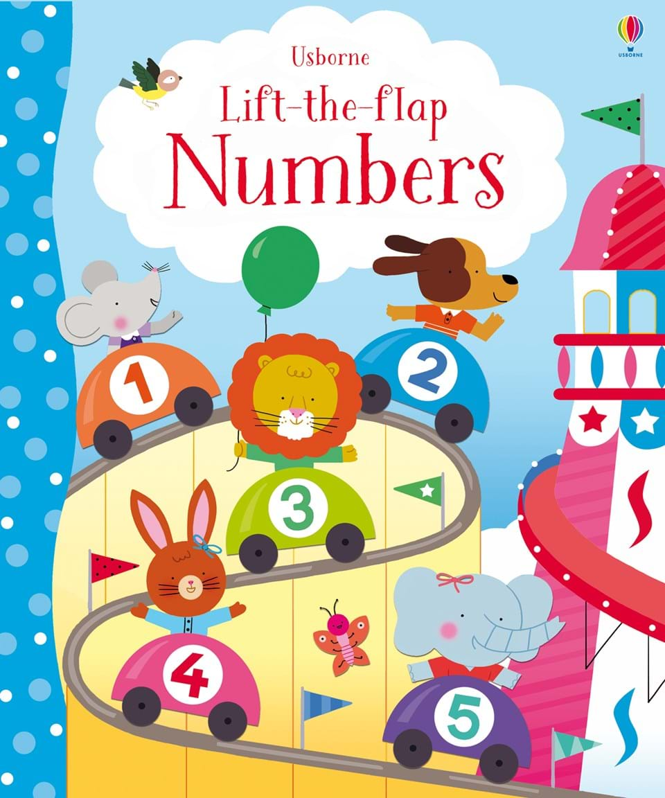 Lift-the-Flap : Numbers