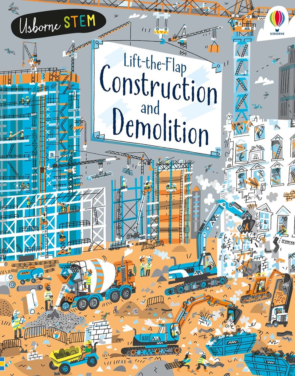 Lift-the-flap: Construction and Demolition