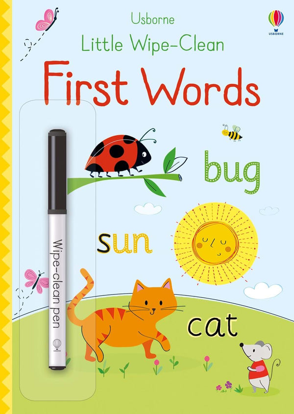 Little Wipe-Clean : First Words (Age 3+)