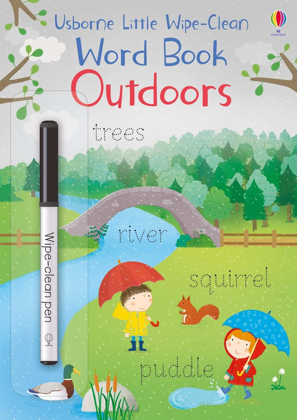 Little Wipe-Clean: Word Book Outdoors