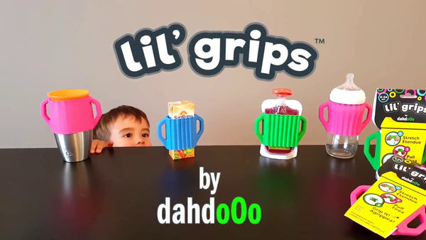"""Dahdooo"" - Lil' Grips Universal Silicone Handles"