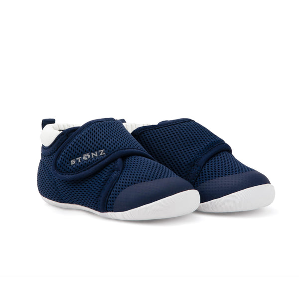Cruiser Breathable (Early Walking) Shoes - Navy