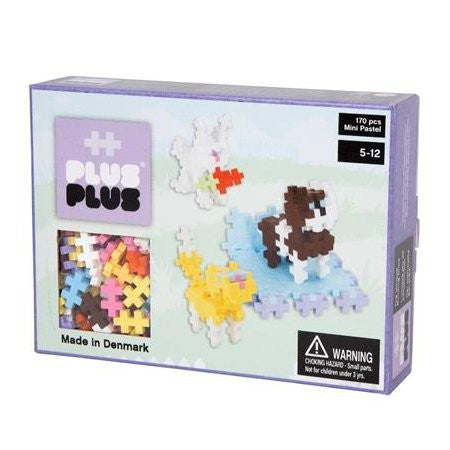 Plus-Plus Mini Pastel Pets 170 Pcs
