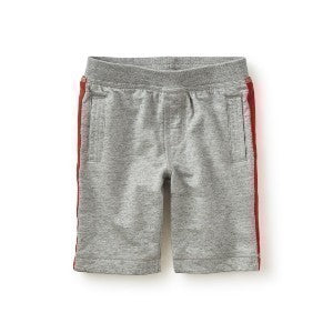 Side Stripe Shorts - Storm Grey Heather