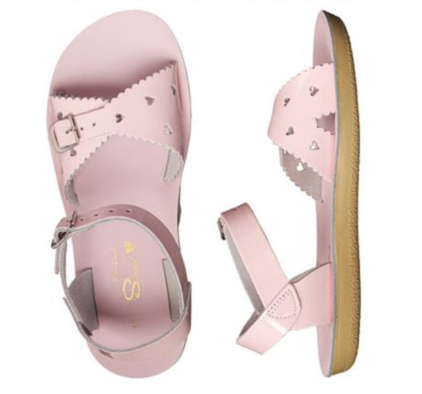 Salt Water Sandals Sweetheart - Shiny Pink