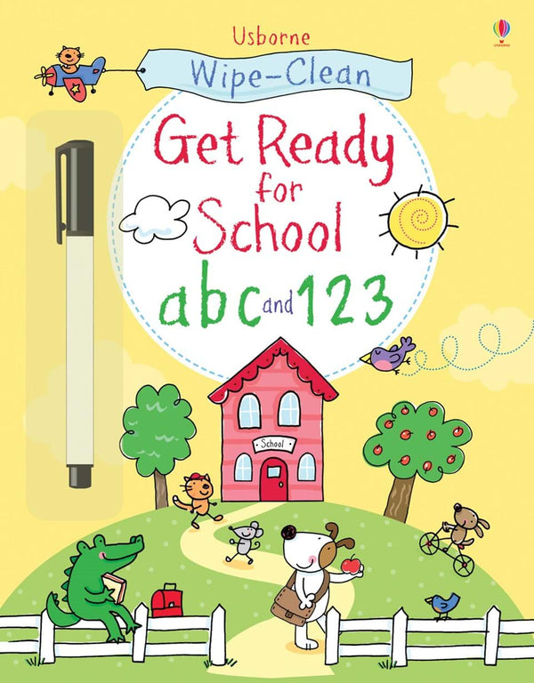 Wipe-clean : ABC and 123 (Get ready for school)