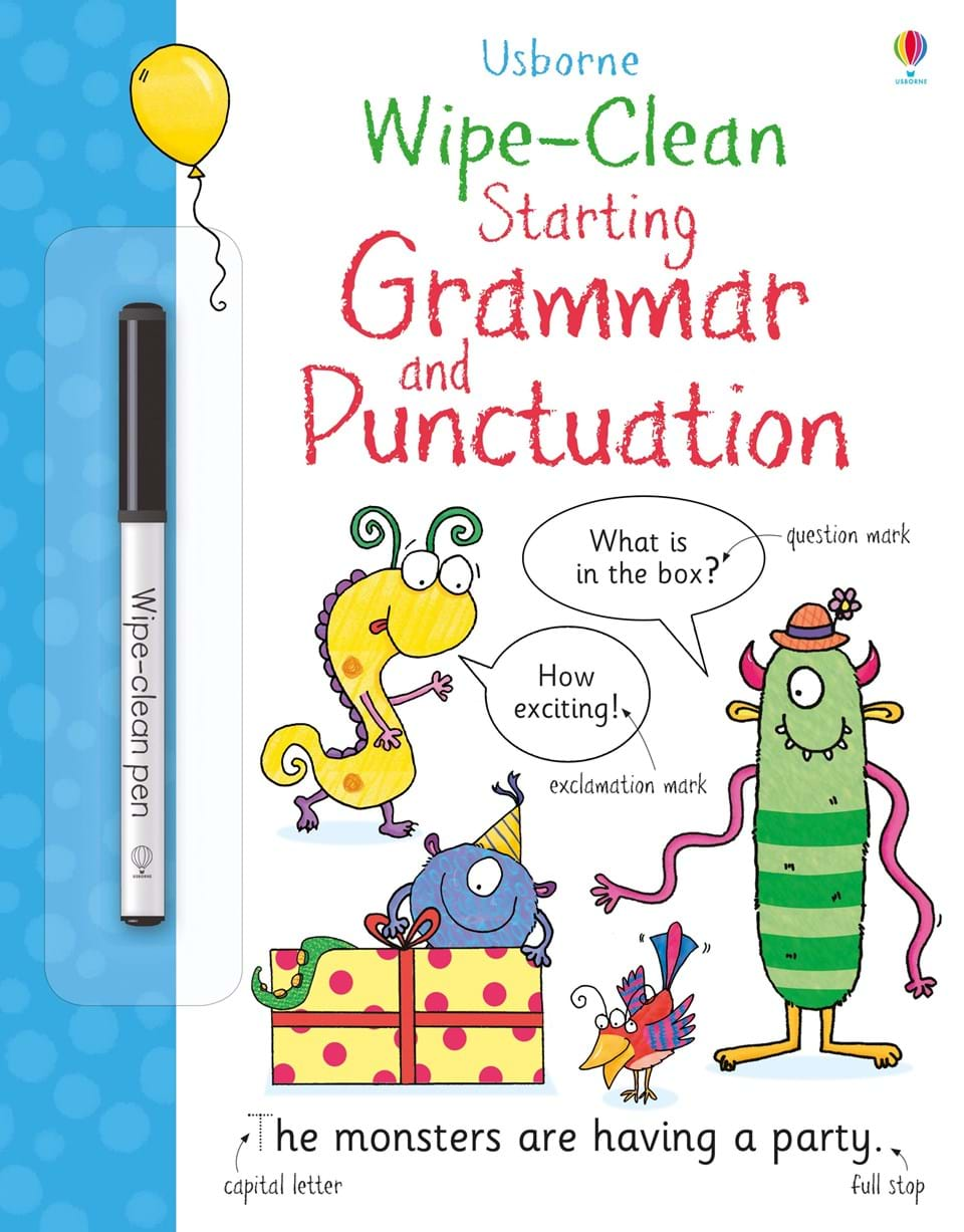 Wipe-Clean : Starting Grammar and Punctuation