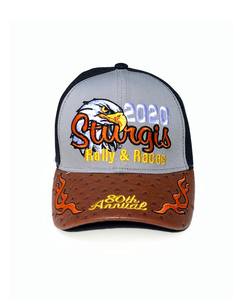 2020 Sturgis Eagle Black, Grey & Brown Hat