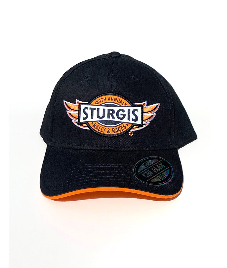 2020 Sturgis Wings Black and Orange Hat