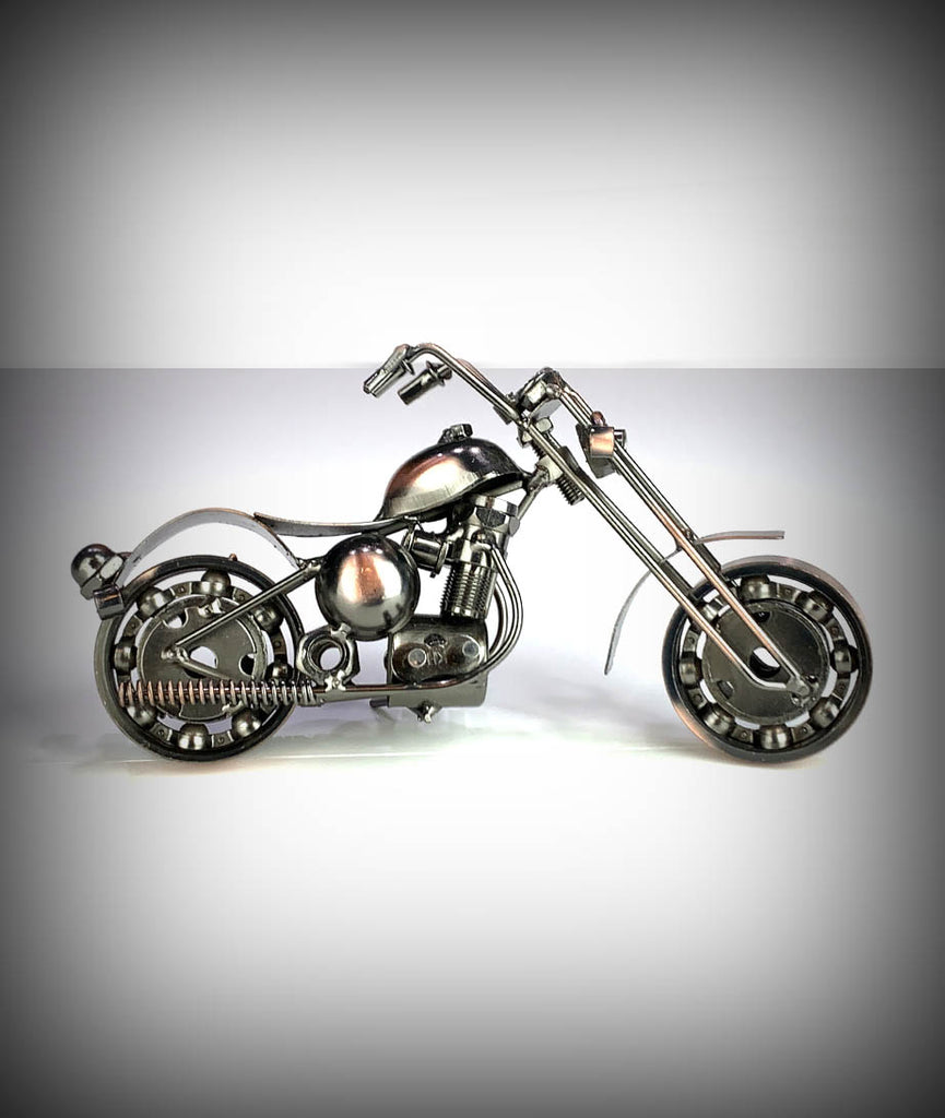 "7.5"" Collectors Decorative Metal Motorcycle"