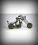 "6"" Collectors Decorative Metal Motorcycle"