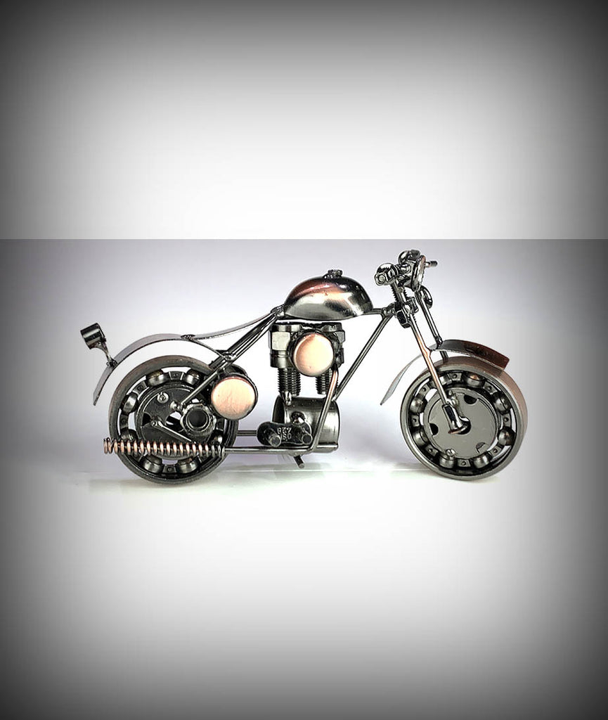 "7"" Collectors Decorative Metal Motorcycle"