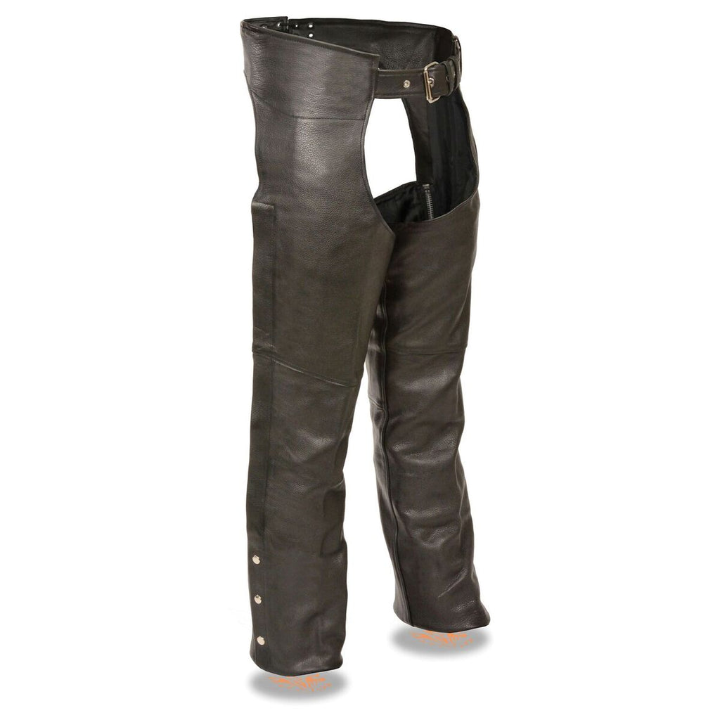 Men's Fully Lined Naked Cowhide Chap