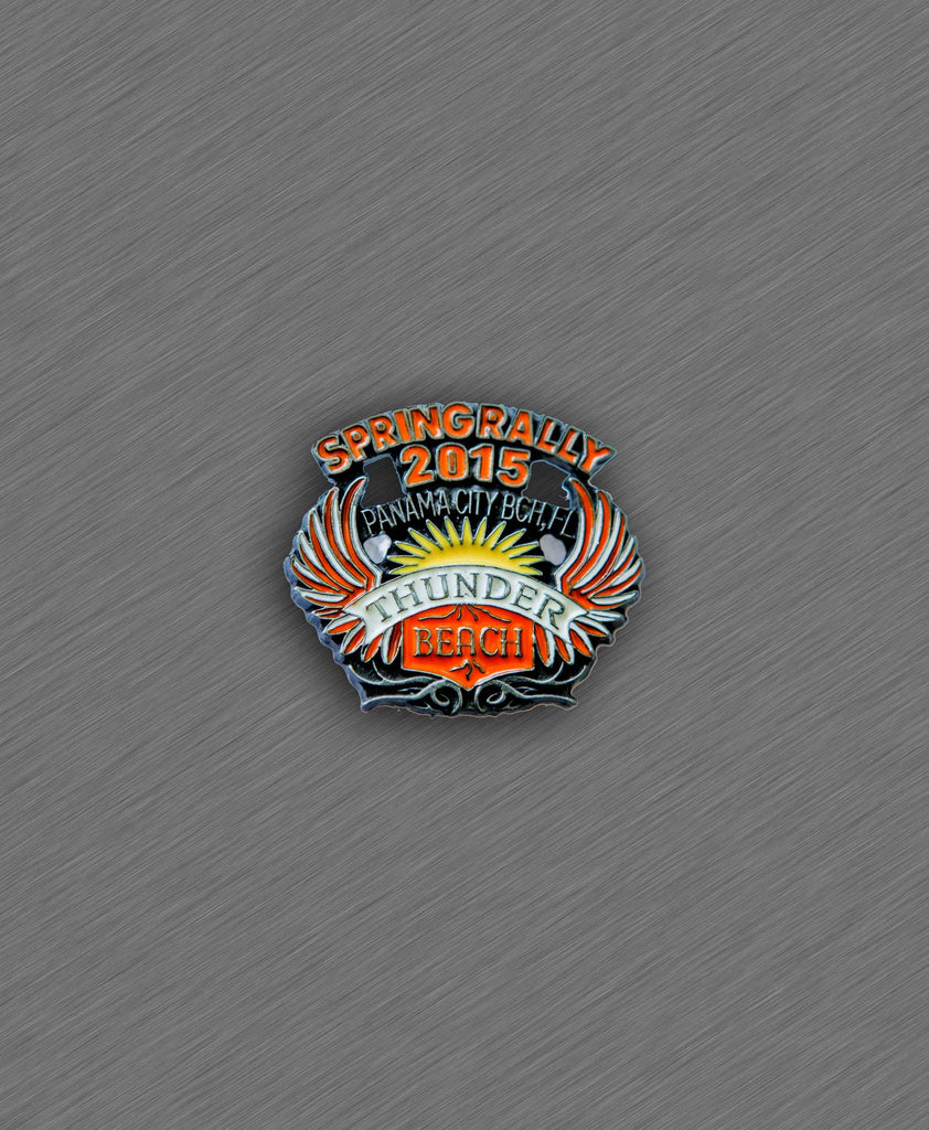 2015 Spring Thunder Beach Official Pin