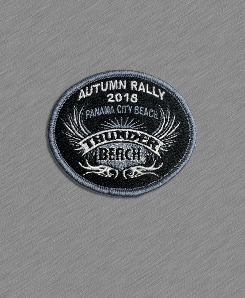 2018 Autumn Thunder Beach Official Patch - Grey