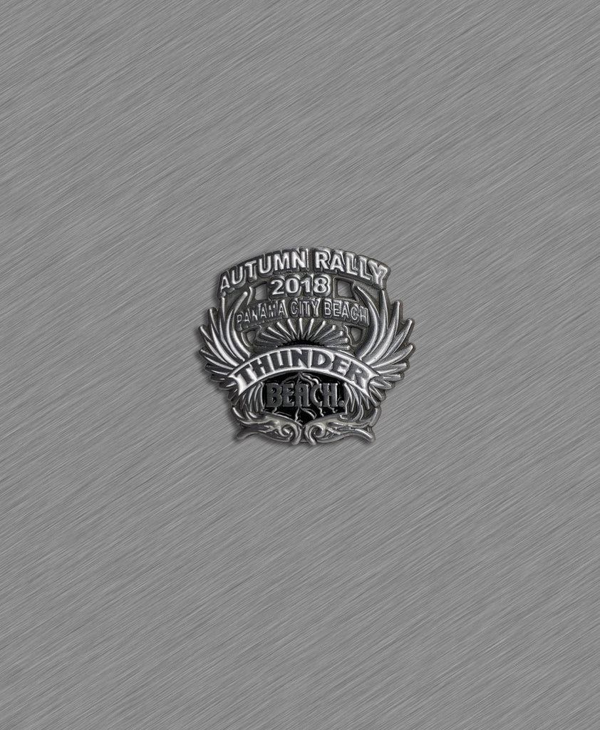 2018 Autumn Thunder Beach Official Pin  - Black