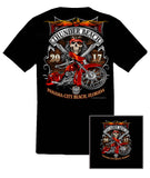 2017 Spring Thunder Beach Pirate Bagger Black T-Shirt