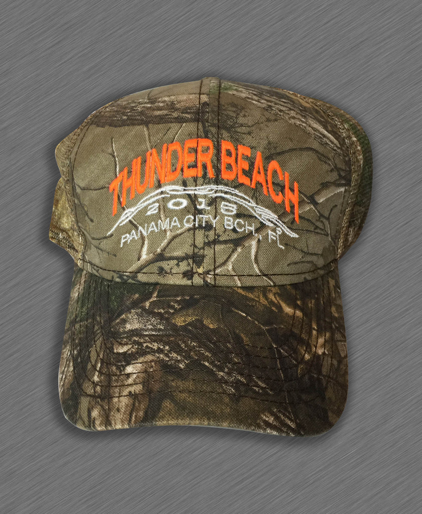 2015 Spring Thunder Beach Hunter Green Mesh Hat