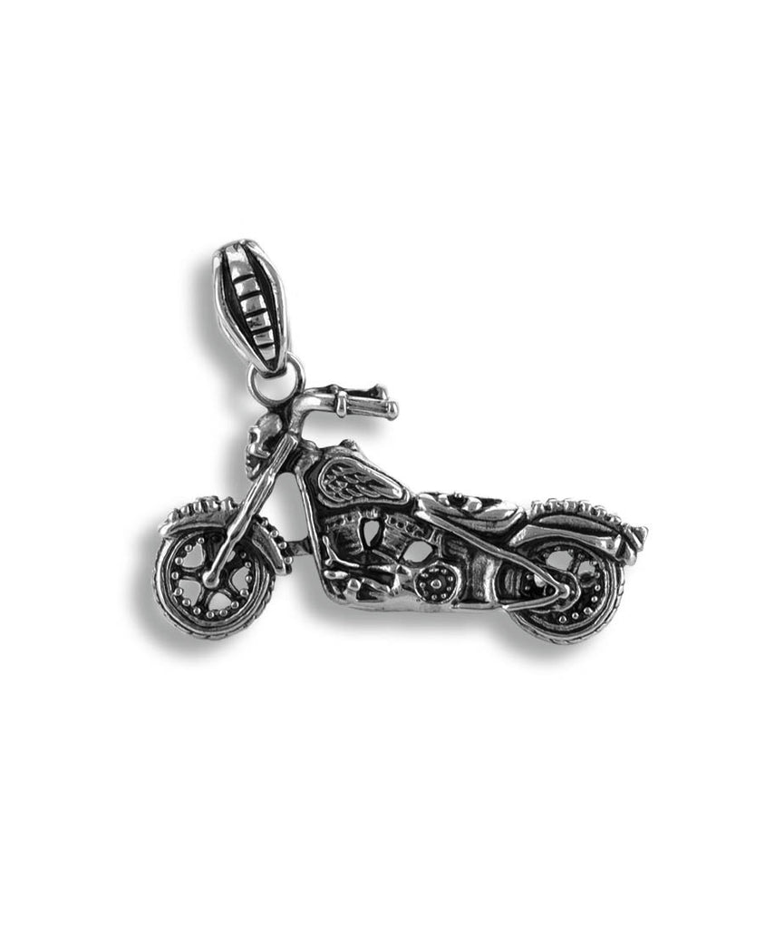 Motorcycle Stainless Steel Pendant