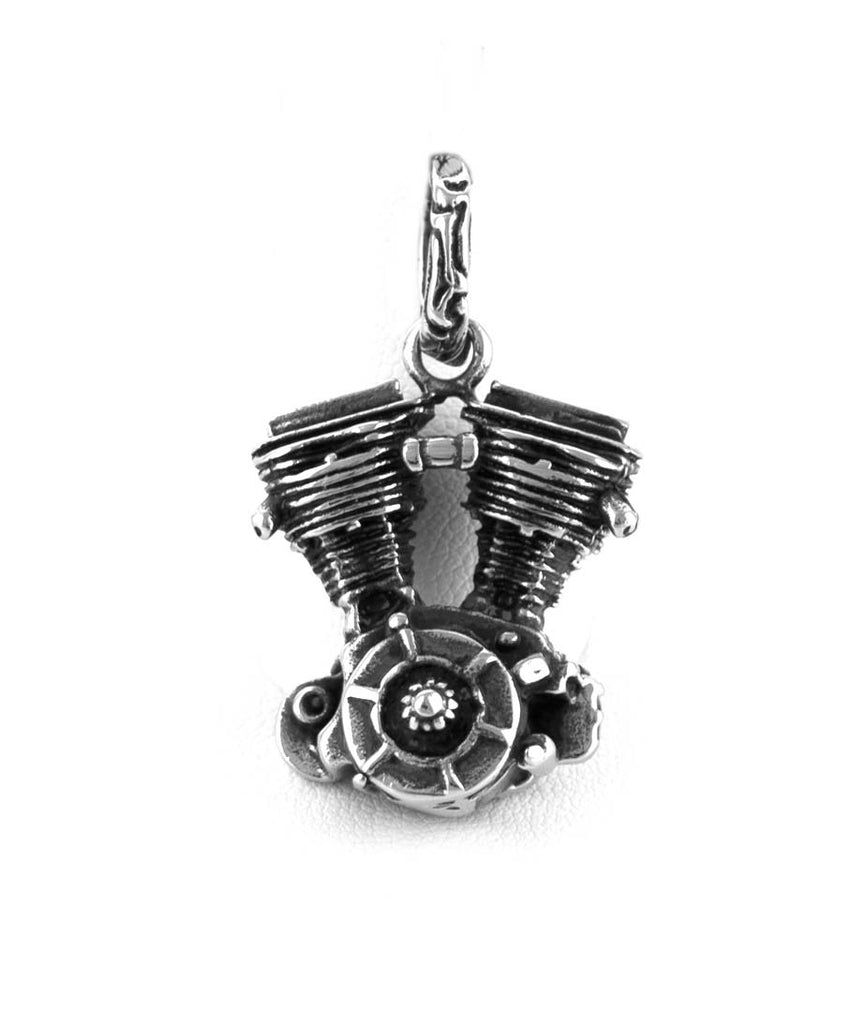 Motorcycle Motor Medium Stainless Steel  Pendant