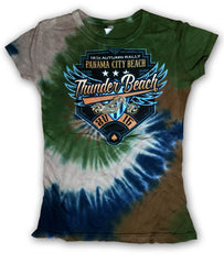 2016 Autumn Thunder Beach Wings & Shield Como Ladies Top